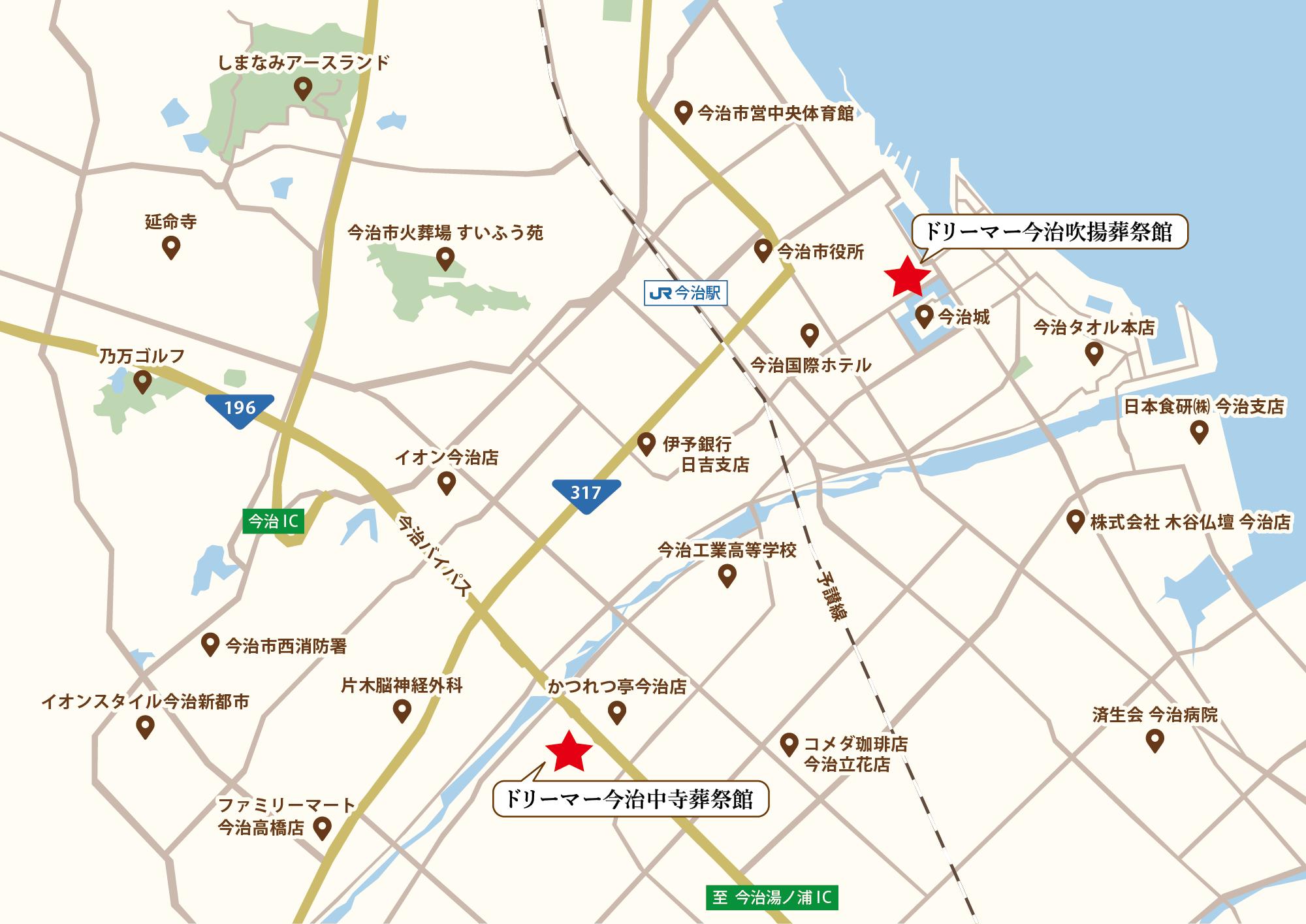 今治市周辺地図